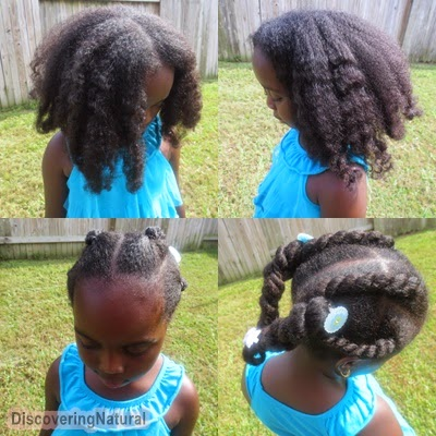 Natural Hair Chunky Twists
