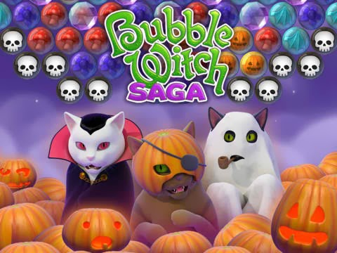 Bubble  Bubble Witch Saga Skor Puanı Bölüm ve Oyun Bitirme Begenme Hilesi