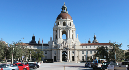 Pasadena City Hall Pawnee Indiana