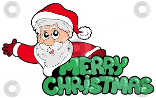 Merry Christmas Clipart Santa