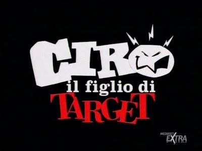 Logo della trasmissione Mediaset ''Ciro il figlio di Target''