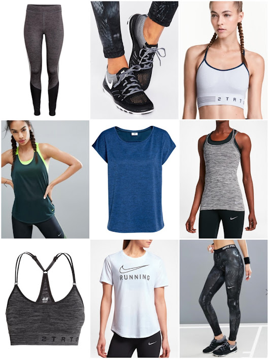 ShinyLipsTv: Workout Clothes Wishlist • H&M/NIKE