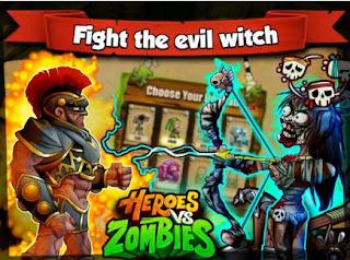Heroes Vs zombie mod apk
