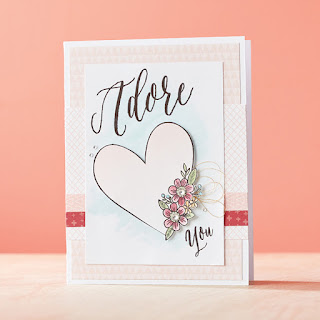 CTMH SOTM Valentine's Day Stamp Set