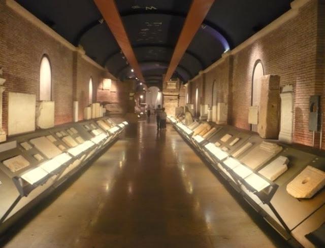 Tabularium nei musei capitolini