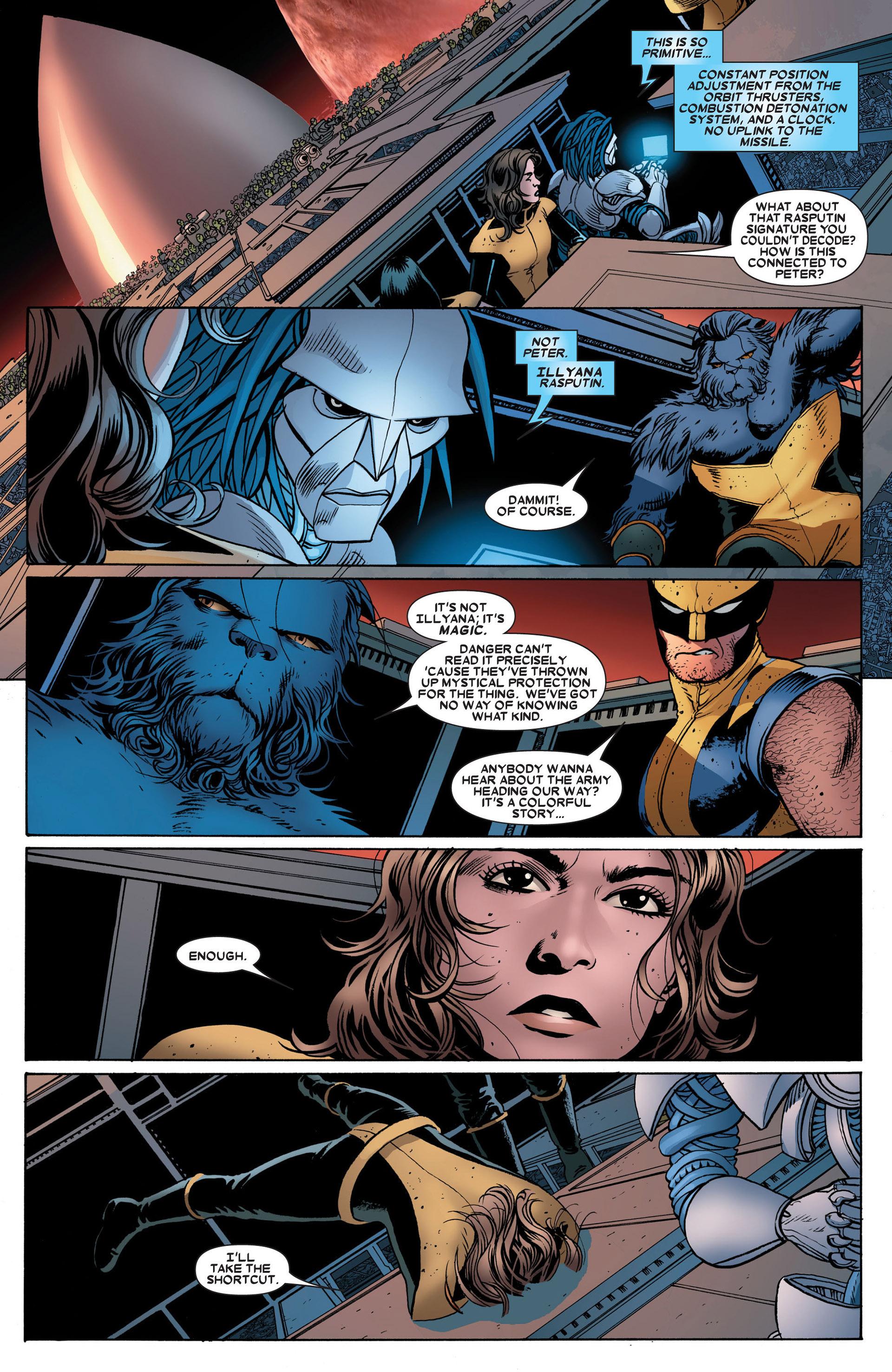 Read online Astonishing X-Men (2004) comic -  Issue #24 - 18