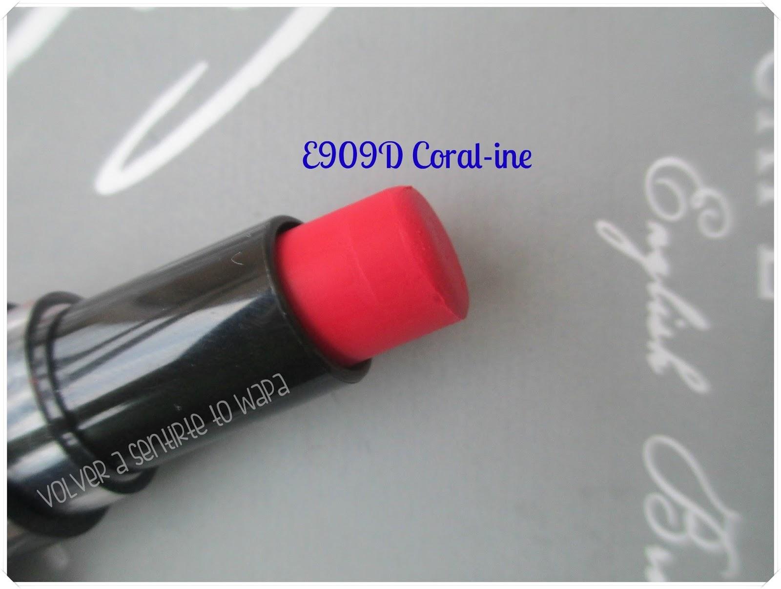 Labiales MegaLast Lip Color de Wet n' Wild - E909D Coral-ine