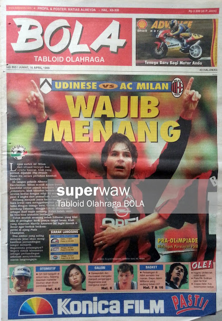 Tabloid BOLA: WAJIB MENANG
