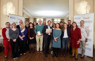 jury prix Landerneau 2016 juré Macéo Michel-Edouard Leclerc Philippe Claudel Bibliza Isabelle Fontaine