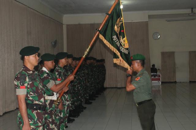 Danmenarmed 1 Kostrad Pimpin Korps Raport Masuk dan Pindah Satuan Perwira