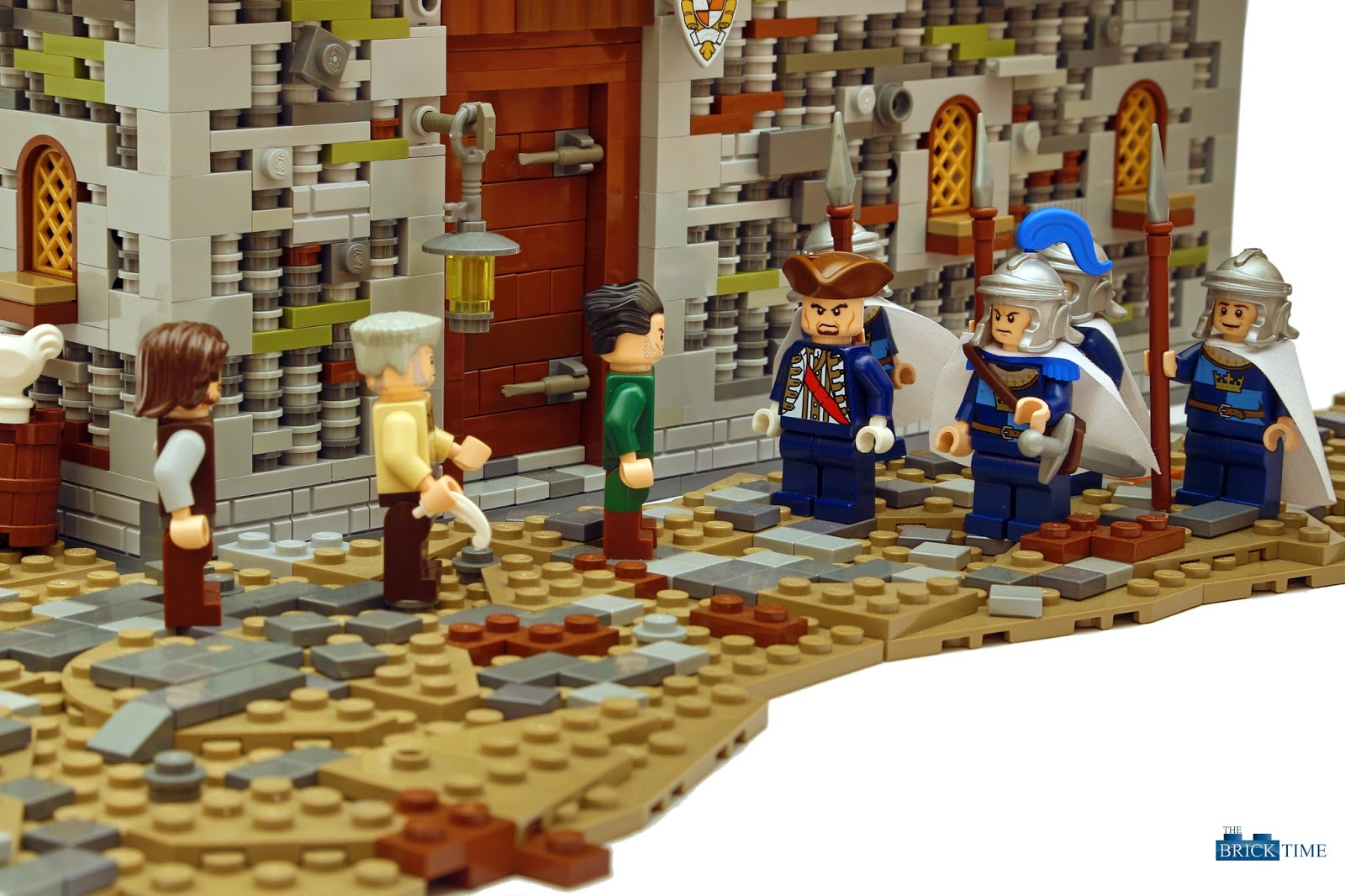 "Lego Soldiers coming to take taxes from the poor! Stupiud IRS... All rights reserved ""The tax inspector"" by THE BRICK TIME Team"