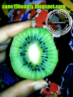 Kiwi is good for fairness of skin.