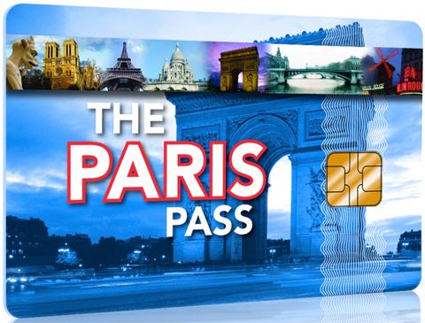 Paris Pass karta card Paryż pass Paryz Parys karta zniżkowa karta z rabatami atrakcje paryza darmowe