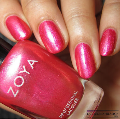 nail polish swatch of Mandy from the Zoya Summer 2017 Wanderlust collection