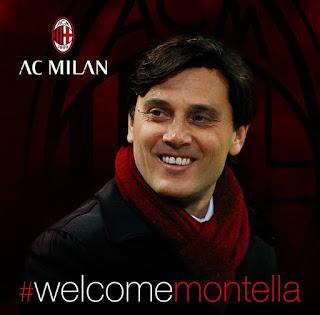 Montella New AC Milan Coach
