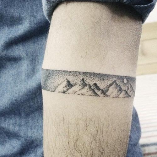 Sleeve Mountain Tattoos