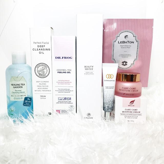 Blogger Mail | Althea Box No  40 | 7-Step Korean Skincare | MYRA