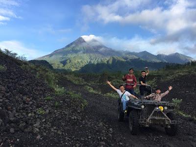 Wisata Jeep Merapi Jogja