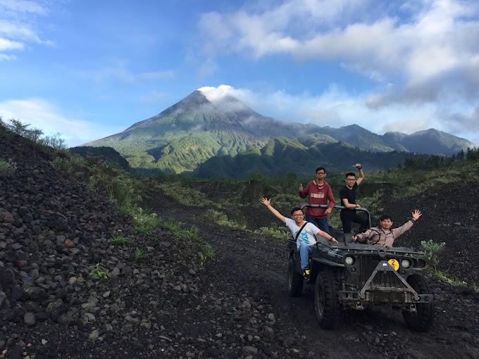 Serunya Wisata Jeep Gunung Merapi Di Jogja