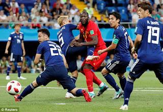 Video Bỉ - Nhật Bản: Siêu kịch tính ngược dòng 5 bàn thắng