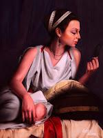 beautiful-woman-painting