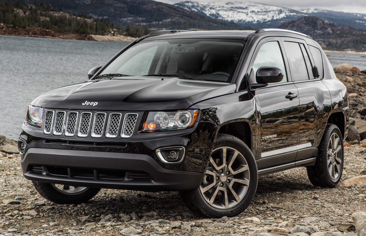 Jeep and compass