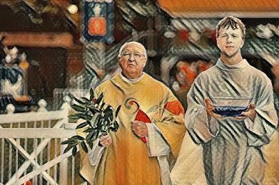 Cardinal Farrell painting