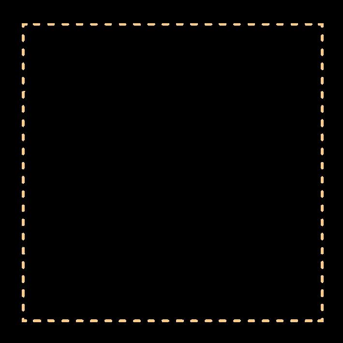 Bahan Edit Foto Dotted Line Frame (Frame Garis Putus-Putus