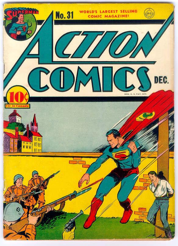 Action Comics (1938) 31 Page 1