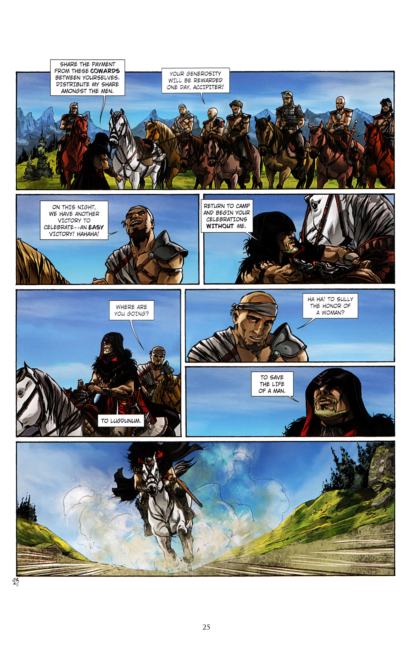 Read online Assassin's Creed (2012) comic -  Issue #3 - 29