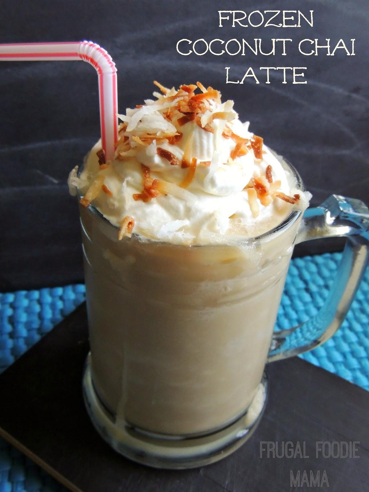 Frozen Coconut Chai Latte