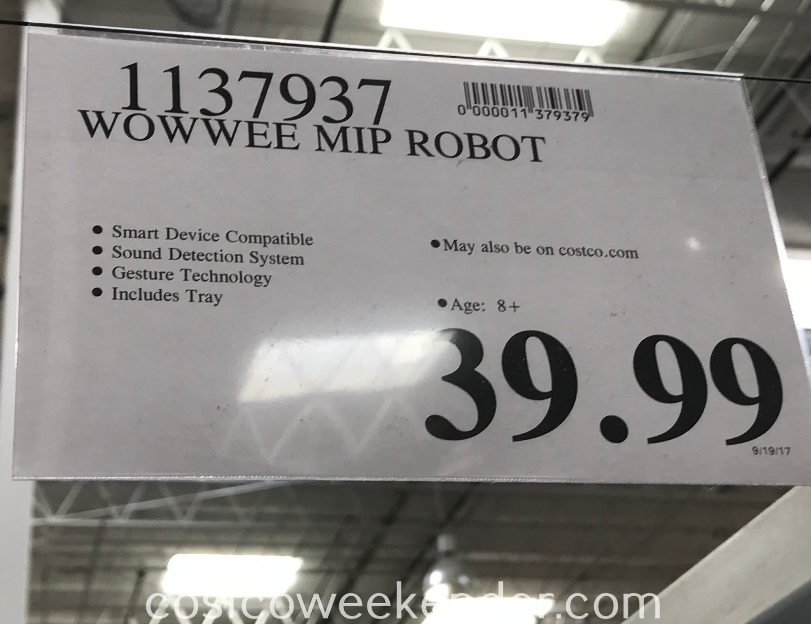 Deal for the WowWee MiP Robot at Costco