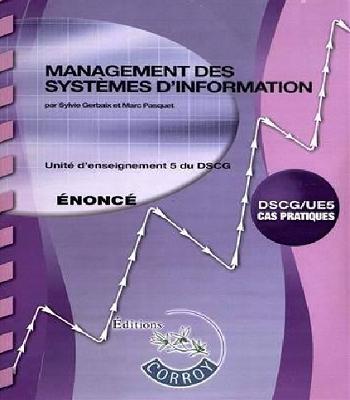 DSCG UE 5 Management des systèmes d'information énoncé PDF