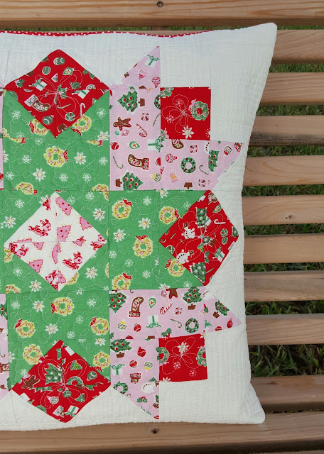 Little Joys Christmas Starlet Pillow by Heidi Staples from Sew Organized for the Busy Girl
