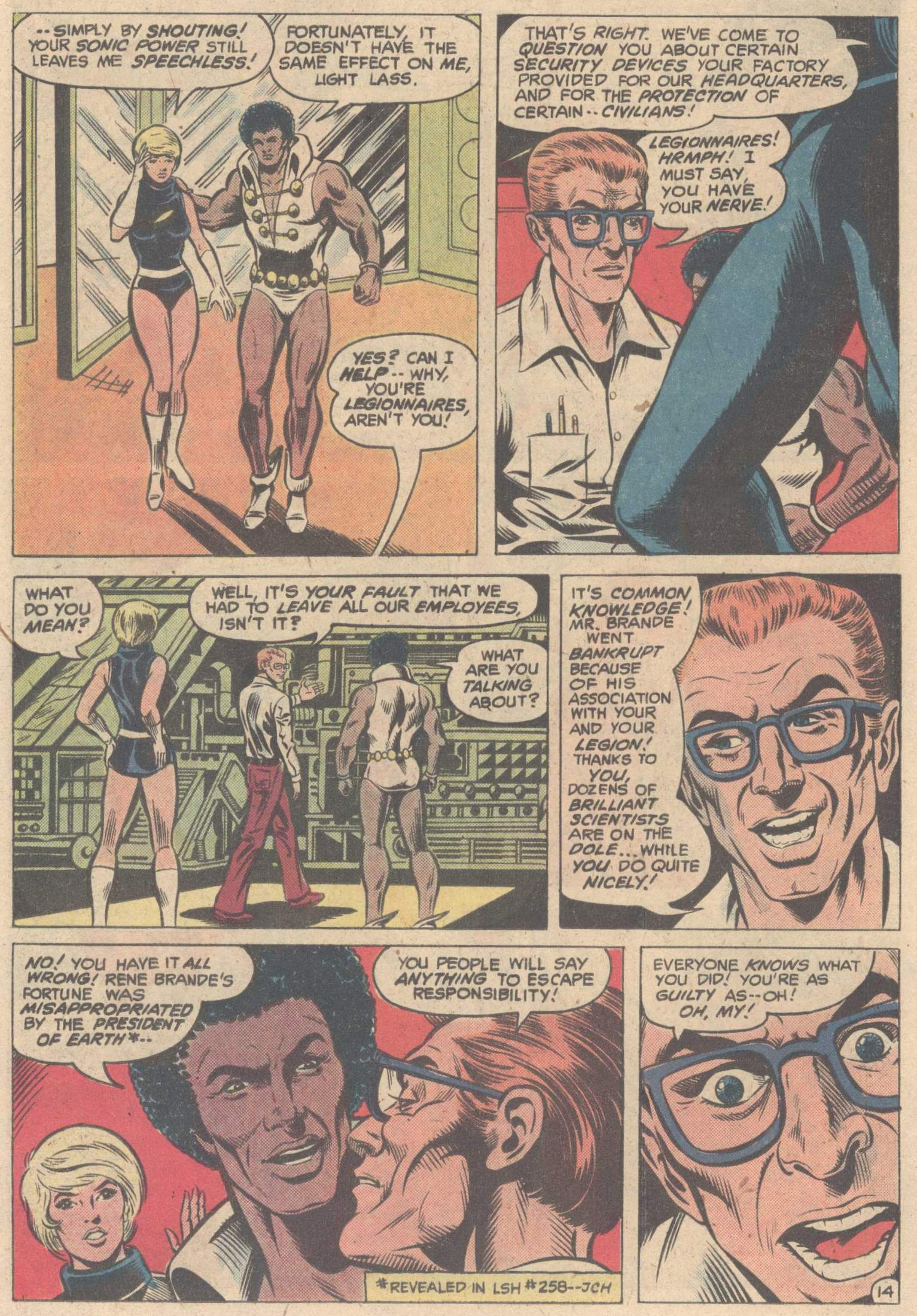 Legion of Super-Heroes (1980) 263 Page 25