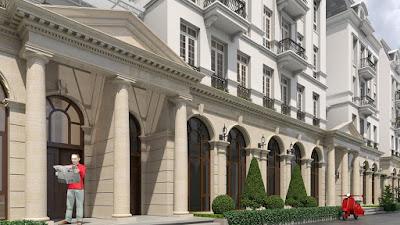Thiết kế khu thấp tầng shophouse Grandeur Palace Giảng Võ