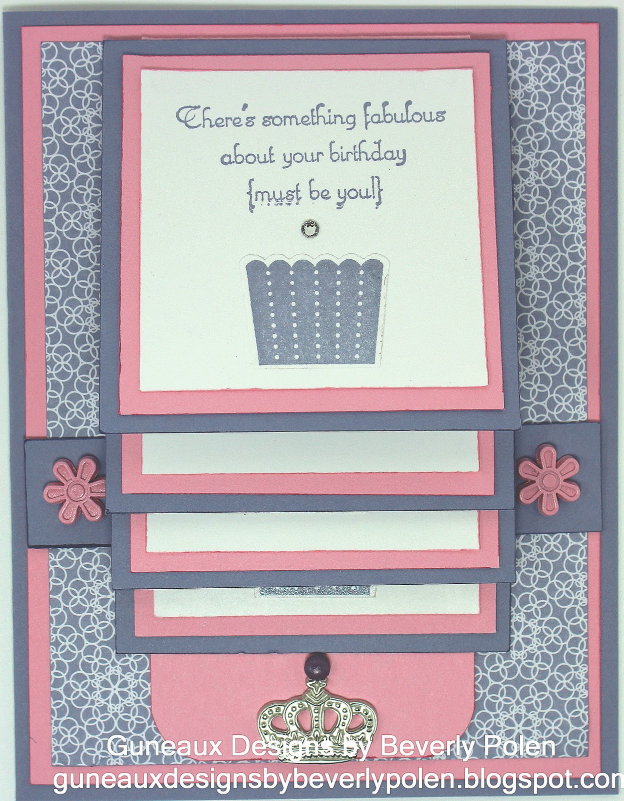 Guneaux Designs by Beverly Polen: How to Make a Waterfall Card
