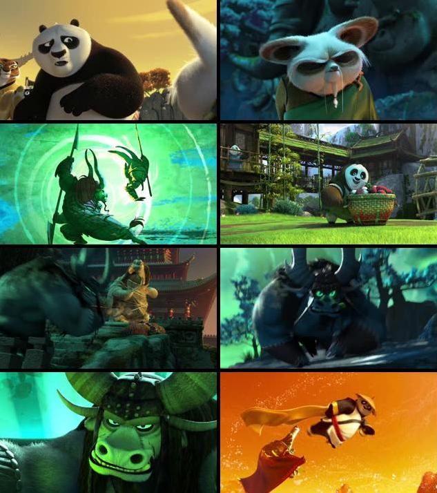 Kung Fu Panda 3 2016 English 480p BRRip