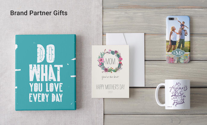 Brand Partner Gifts for Mother's Day - Get Inspired, Personalized BigStock Products, Hallmark Products