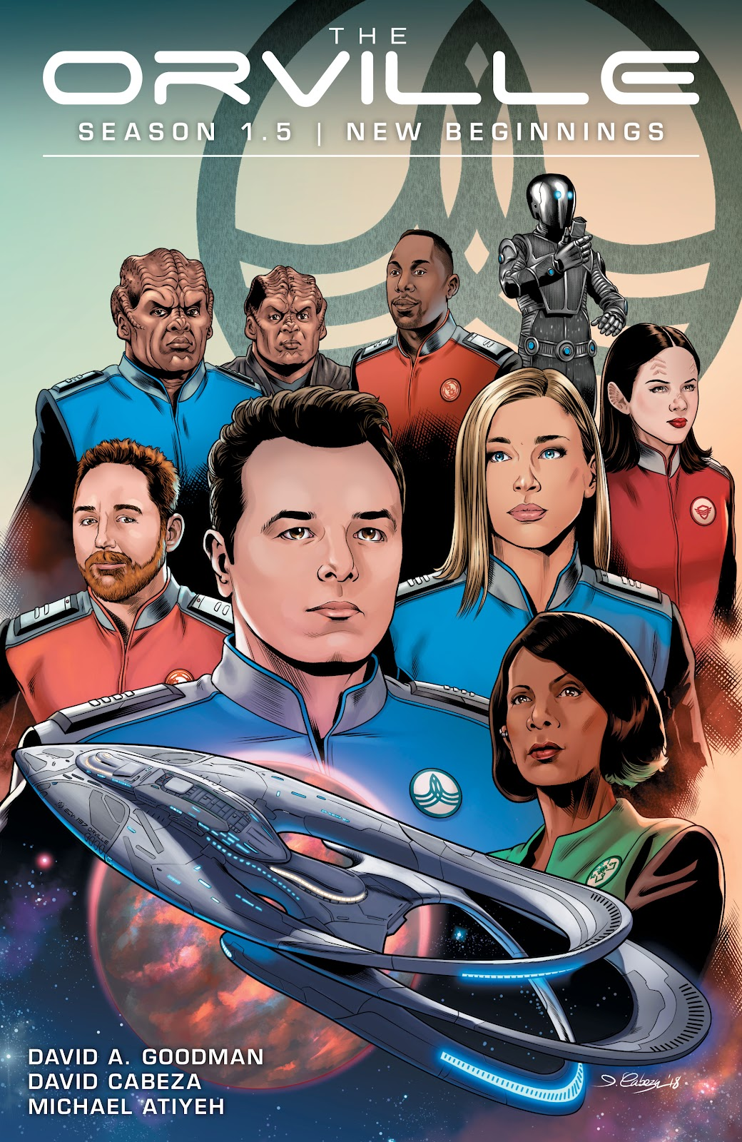 The Orville TPB Page 1