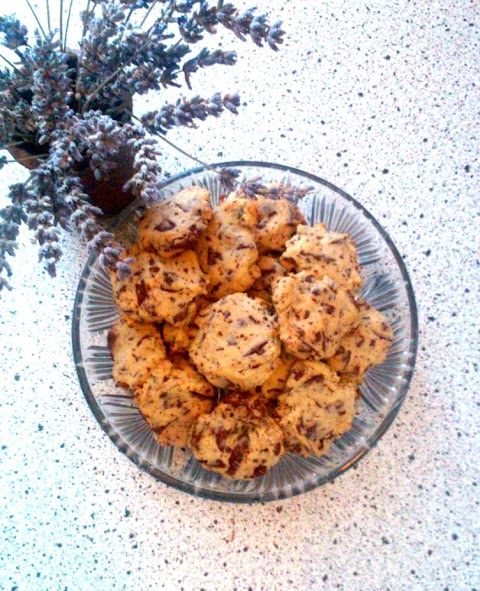 Ginger & Chocolate Biscuits