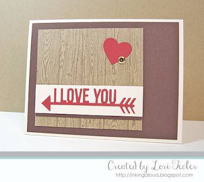 I Love You card-designed by Lori Tecler/Inking Aloud-stamps and dies from My Favorite Things