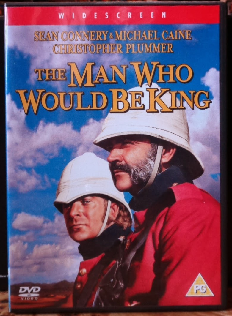 Movies on DVD and Blu-ray: The Man Who Would Be King (1975)