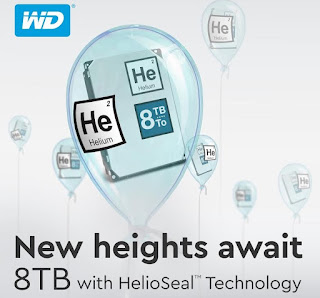 Western Digital Launches 8TB Hard Drive with HelioSeal Technology