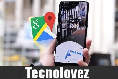 Su Google Maps arriva la realtà aumentata - Nuova funzionalità che consente di avere indicazioni usando la fotocamera dello smartphone