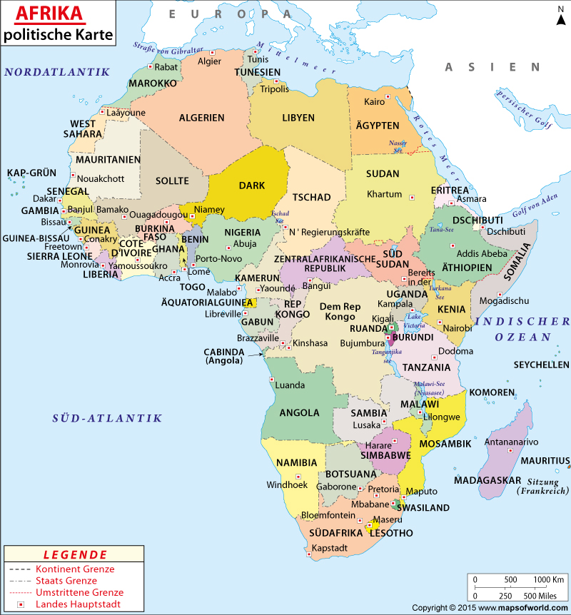 Afrika   Den afrikanske kontinent