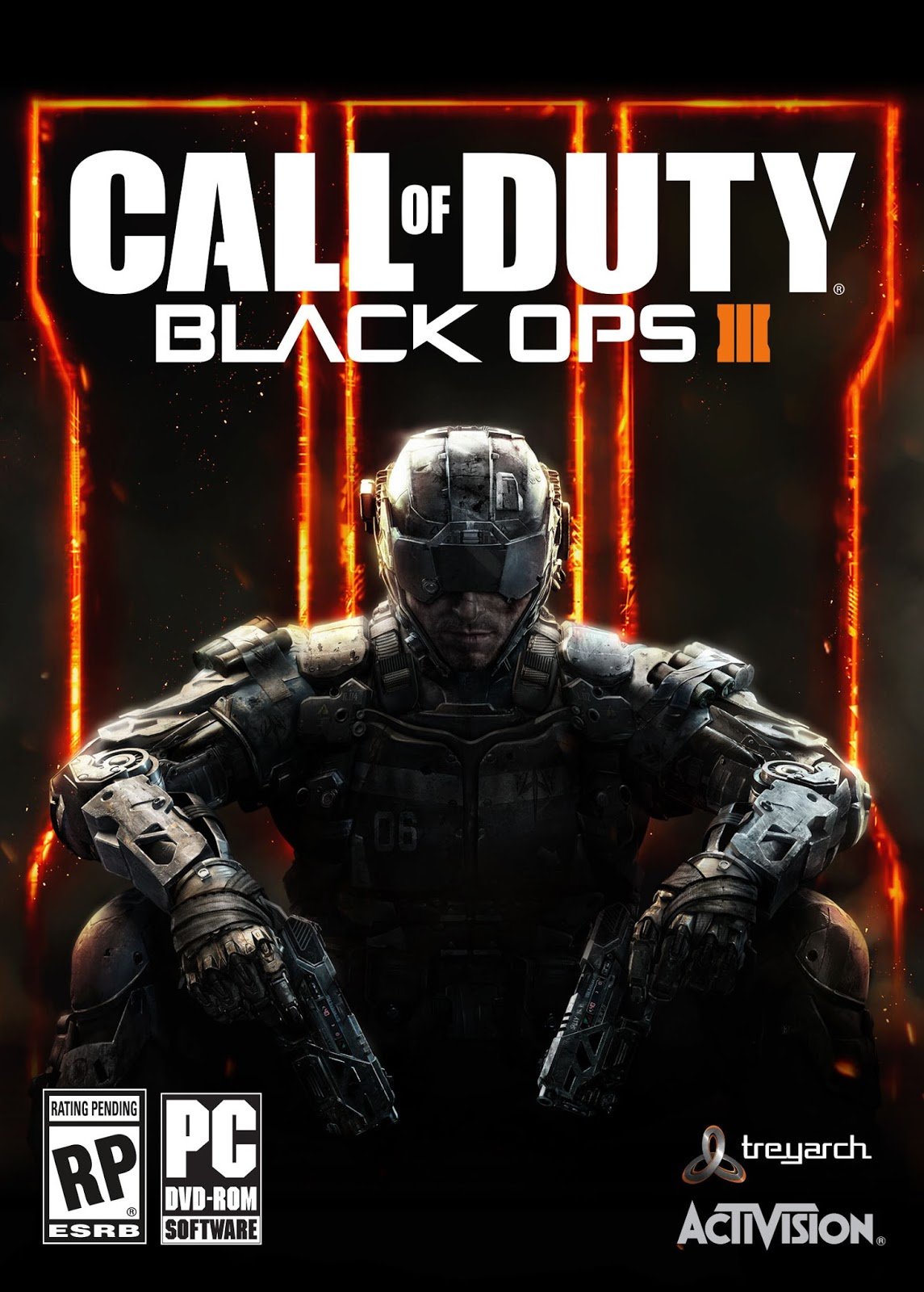 Call Of Duty Black Ops III ESPAÑOL PC Full Cover Caratula