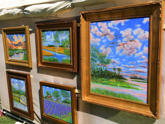 "Dwain Ray ""Near Botany Bay"" at the 2015 Piccolo Spoleto Festival Art Exhibition 