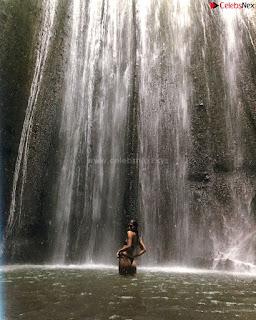 Merrylin Boro in river enjoying in black bikini  ~ .xyz Exclusive Celebrity Pics 015.jpg