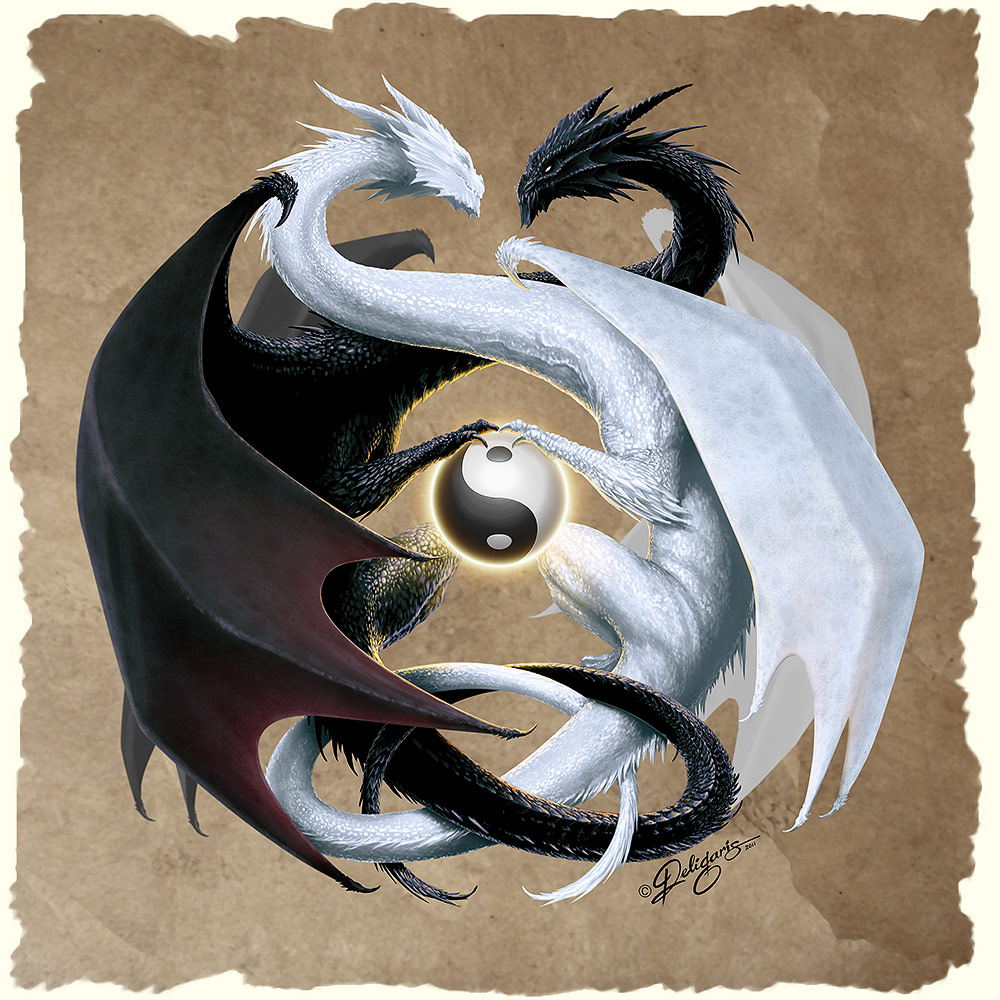 Taoism Symbols Dragon: Central Wallpaper: Far East Philosophy Ying Yang Meaning